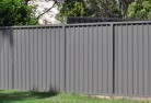 Akaroa Colorbond fencing 3