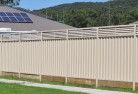 Akaroa Colorbond fencing 5