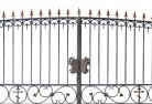 Akaroa Wrought iron fencing 10