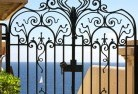 Akaroa Wrought iron fencing 13